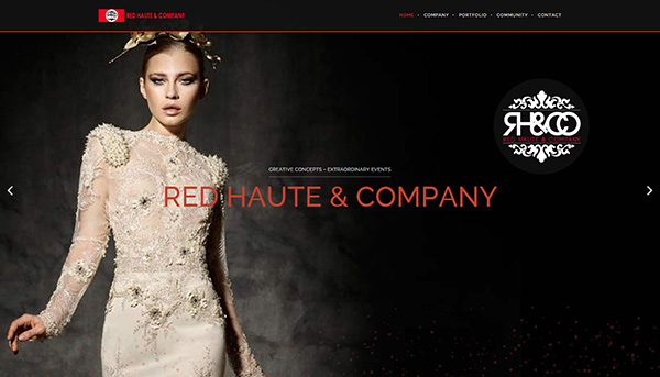 Red Haute and Co. - Artwork for home page